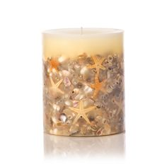 Rosy Rings Beach House Botanical Candle -  the fragrance of a warm breeze blowing across beach grasses