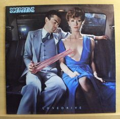 SCORPIONS - Lovedrive - Vinyl LP Holiday Always somewhere Can´t get enough -RARE