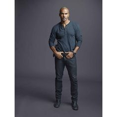 Derek Morgan ❤ liked on Polyvore featuring criminal minds