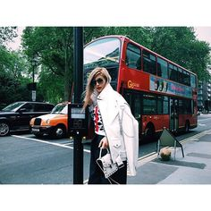 My last day in London Jacket..Ambush Tops..Etre Cecile Denim..John Lawrence Sullivan Bag..Bulgari Eyewear..Fendi