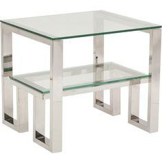 "Imperial End Table* $749.00 | highfashionhome.com | 27""w x 24""d x 24.5""h | item# 58143"