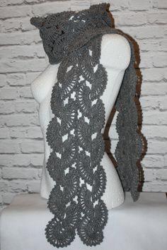 Crochet gray neckwarmer  #crochet #crocheted #shawl #etsy #etsyshop, #etsyseller, #handmade #boho #neckwarmer #makatarina #crochetshawl #crochetscarf #cozyshawl #wintershawl #warmscarf #wintershawl