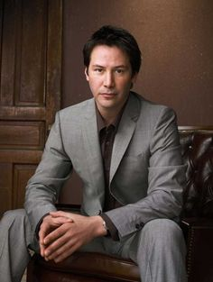 Keanu Reeves What a neat guy! Knows how to live simply and humbly.