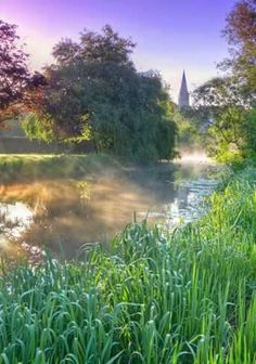 Malmesbury Circular River Walk, Wiltshire, England