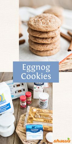 delicious Egg Nog Cookies are the perfect addition to your cookie ...