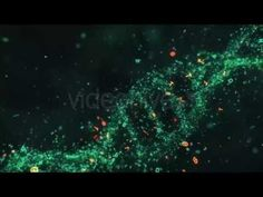 DNA Letters Looped Background || Videohive - YouTube
