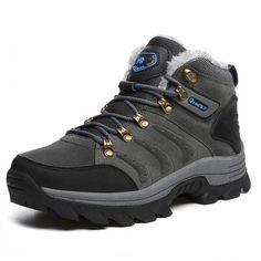 81559410b2 VANCAT Big size New Men Boots for Men Winter Snow Boots Warm Fur Plush Lace  Up High Top Fashion Men Shoes Sneakers Boots