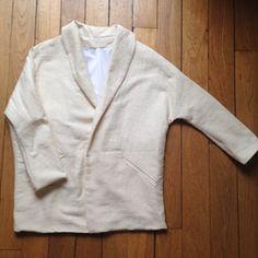 64a4505cccbe6 Impatiente que les beaux jours arrivent pour porter ma veste écru pailleté   montmartre de  aime comme marie entièrement doublée ! J avais peur de me  lancer ...