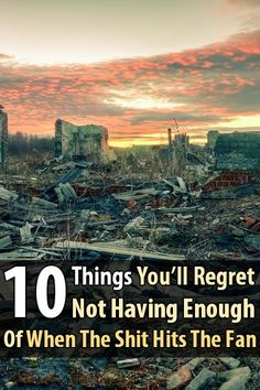 There are certain items of which you'll want plenty extra if the SHTF. If you don't, you'll regret it. Elise Xavier made a list of 10 such items.