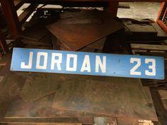 Michael Jordan Vintage Style Locker Room Sign UNC Tar Heels