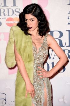 Marina and The Diamonds attends the Brit Awards 2015