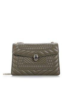 BULGARI 'Serpenti Forever' Chain strap shoulder bag