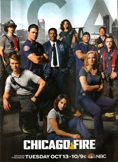 Chicago Fire Season 4 promo poster