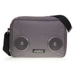 Fydelity DAILY G-FORCE Shoulder Bag- ANTRACITE #Fydelity #DailyGForce #ShoulderBag #Antracite