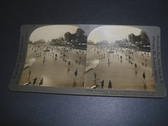 Stereoview  AMERICAs FOREMOST SEA-SIDE RESORT ATLANTIC CITY NEW JERSEY  26495