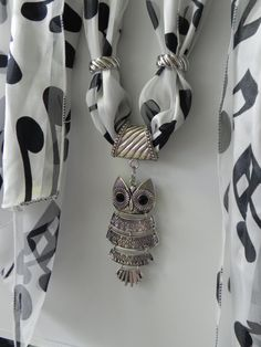 1000 ideas about scarf jewelry on pinterest scarf for Owl fish clothing