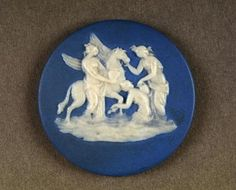 Darwin Country - Wedgwood Jasperware Cameo. Shrewsbury Museums Service. (SHYMS: C.331).