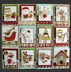 cute christmas card ideas made with the cricut
