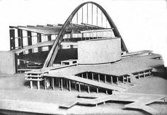 Le Corbusier and Pierre Jeanneret, Palace of Soviets, 1931