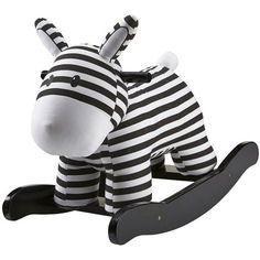 #Schommelpaard - Rocking Horse - zwart-wit - Kid's Concept #blackandwhite #monochrome #toys #kidsconcept #rockinghorse #monochromekids #scandinavian #sint #xmas #littlethingz2