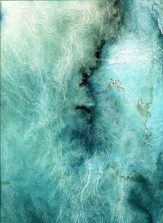 Painting Abstract Nature Awesome Art Ideas for 2019 - Abstract Painting Abstract Nature, Abstract Art, Painting Inspiration, Color Inspiration, Backgrounds Wallpapers, Watercolor Texture, Watercolour, Texture Art, Ocean Texture