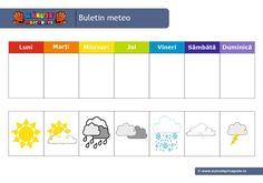 001 - Starea vremii Crafts For Kids, Kindergarten, Preschool, Calendar, Parenting, Classroom, Activities, Decor, Crafts For Children