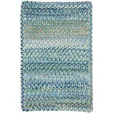Capel Ocracoke Light Blue Area Rug Rug Size: