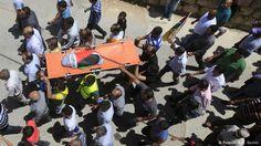 Palästina Trauerfeier für das getötete Baby in Duma bei Nablus