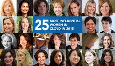 Here's a list of the top 25 female thought-leaders, champions, and innovators in cloud technology.