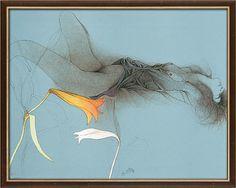 "Bruno Bruni: Bild ""Sola"" (1987), gerahmt"