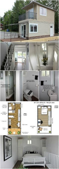 Attractive This Modular Tiny House Can Be Delivered To You Fully Assembled! {Free  Floor Plans}