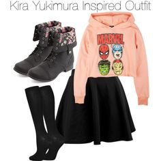 """Teen Wolf - Kira Yukimura Inspired Outfit"" by staystronng on Polyvore"
