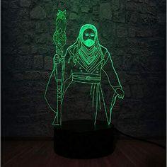 3D Nachtlicht Led Nachtlicht 7 Farbwechsel Lampe Acryl Hologramm Elefant Illusion Schreibtischlampe Geschenk Dekoration Beleuchtung f/ür Kinder und Freunde,Remote and touch