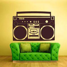 rvz1311 Wall Sticker vinyle autocollant par DecorationMonster