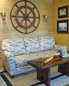 ... WA Recently Refinished A Hatch Cover (similar To This) + Added Legs To  Make A Coffee Table For My Home. This Boat Upholstery Is ...