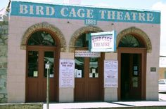 The Bird Cage Theater in Tombstone Arizona is one of the most haunted places in the United States. If your into the paranormal then you just have to check out haunted Tombstone Arizona.