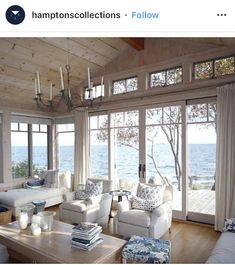 Comfy Lake House Living Room Decor Ideas You are in the right place about malibu beach house decor Here we offer you the most beautiful House Design, Home Living Room, House, Interior, Beach House Decor, House Interior, Interior Design, Decor Home Living Room, Home And Living