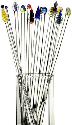 Glass Knitting Needles