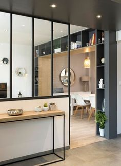 Un souffle de nouveauté - rénovation - aménagement - lyon - miribel - cuisine. Home Design, Room Interior Design, Küchen Design, Living Room Interior, Interior Decorating, Home Renovation, Home Remodeling, Kitchen Remodeling, Home Decor Trends