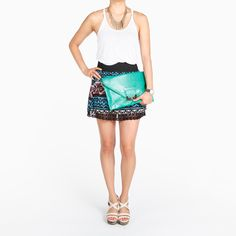 Tribal Skirt by Iris Basic  So cute