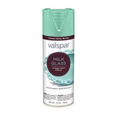 Valspar Marina Milk Glass Fade Resistant Enamel Spray Paint (Actual Net Contents: 12-oz)