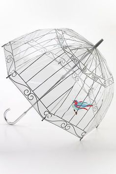 Fulton Umbrellas: Lulu Guinness - Designer - Lulu Guinness by Fulton. Lulu Guinness quintessentially British accessories available online now! Birdcage Umbrella, Dome Umbrella, Bubble Umbrella, Clear Umbrella, Under My Umbrella, Fulton Umbrella, Fancy Umbrella, Umbrella Shop, Lulu Guinness