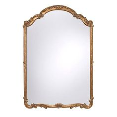 Feiss MR1185AGD Mirror, Antique Gold