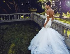 "The ""Wisteria"" gown from Lauren Elaine Bridal. 