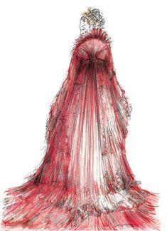 2009, Costume Design for 'Tosca' by Milena Canonero, Metropolitan Opera, New York, USA.