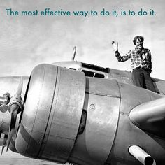 While I'm on the topic of Amelia Earhart... @wednesdaywisdom #ameliaearhart @ameliaearhartofficial