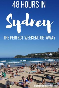 Manly Beach - 48 Hours in Sydney: The Perfect Weekend Getaway - The Trusted Traveller