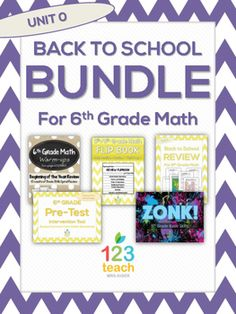 back to school review bundle for 6th grade math - 6th Grade Graduation Certificate Template