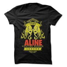 Team ALINE - 999 Cool Name Shirt ! #sunfrogshirt
