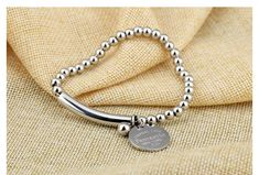 Anti-Fading Stainless Steel Personalized Bracelet Gift For Her – Delite Shopping #personalizedgift #bracelet #accessories